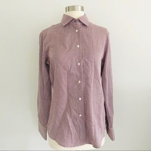 NEW Faconnable Classic Slim Fit Shirt Sz 8